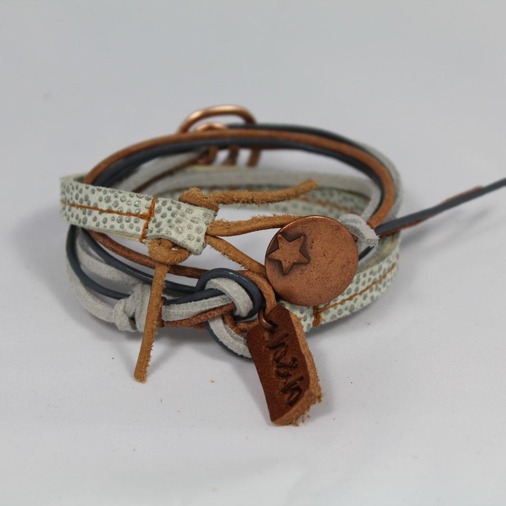 armband swirl rose