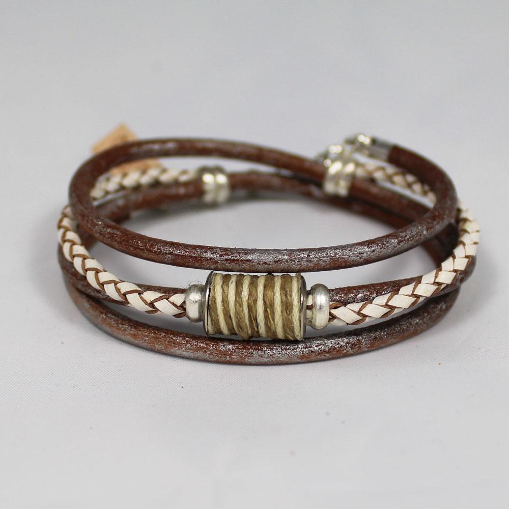 armband wikkel knitbead